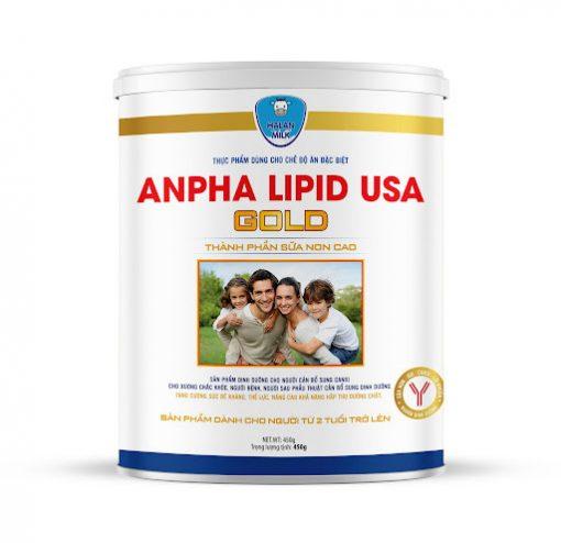 sữa non alpha gold USA